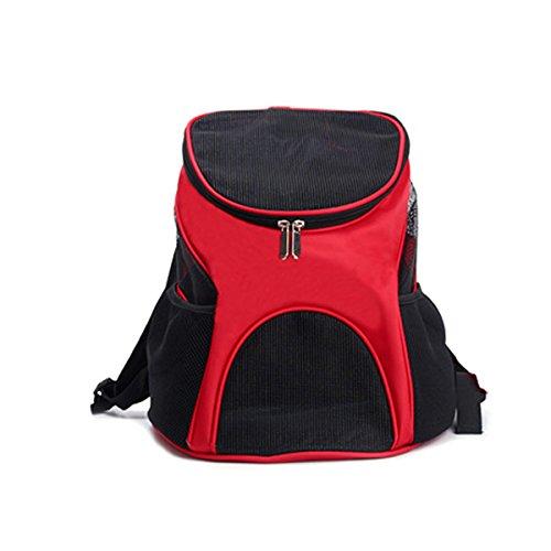 PETCUTE Haustier Träger Rucksack Hunde rucksäcke für kleine Hund und Katzen Belüfteten Design Hunde Tasche Reise Schultertaschen für das Wandern im Freien