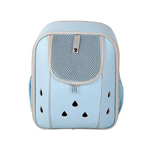 Cjzdcwb Deluxe Pet Carrier Rucksack für kleine Katzen und Hunde, Welpen |Belüftetes Design, beidseitiger Einstieg, Sicherheitsmerkmale und Kissenrückenstütze |für Reisen, Wandern, Outdoor