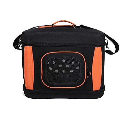 LOHUA Transporttasche & Hundebox - Pet Travel Kennel für Katzen, kleine Hunde und Kaninchen
