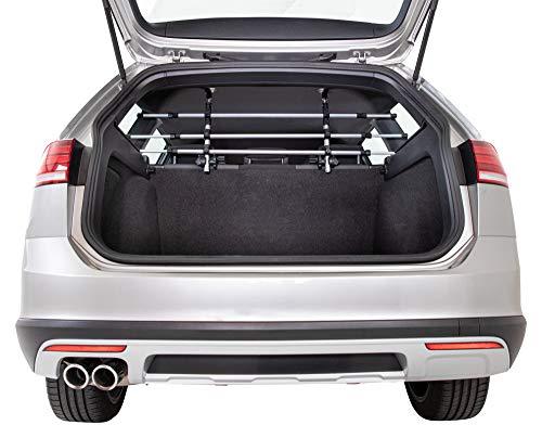 Trixie 13171 Auto-Gitter, Breite: 96–163 cm Höhe: 34–48 cm, silber/schwarz,3031g