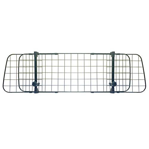 Sakura SS5259 Universal Kofferraum Trenngitter für Hunde - Auto Hundegitter Zum Transport für deinen Hund - Schutzgitter mit Kopfstützen-Befestigung