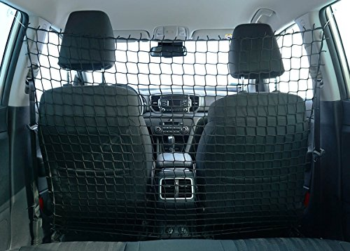 Ferocity Universaler Auto Netz Haustier Barrier Sicherheitsnetz Rücksitz Barriere Trennnetz 110x135 cm [058]