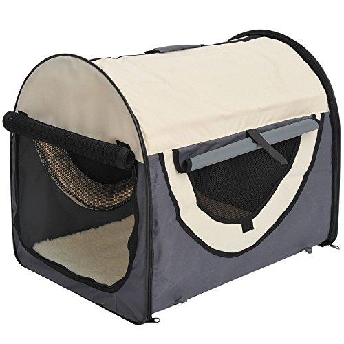Pawhut Stabile, Faltbare Transporttasche für kleine Hunde, Welpen, Katzen und andere Kleintiere!